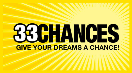 33 Chances scratch card
