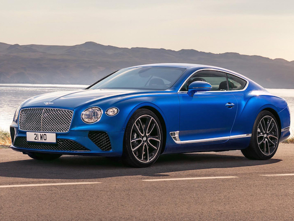 The Bentley Continental GT is one of the 10 best prizes at BOTB