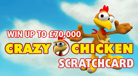 Crazy Chicken online scratch card