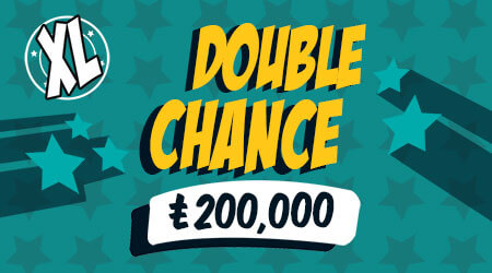 Double Chance XL Scratch Card