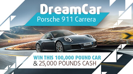 Dream Car Scratch Cards Win a Porsche 911 Carrera