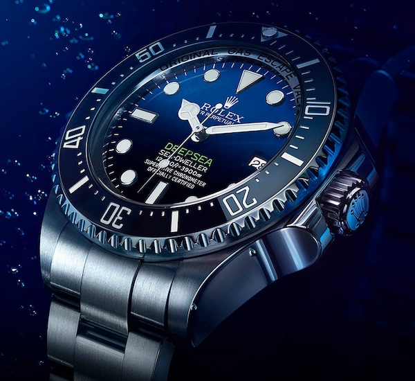 Win a Rolex Deep Sea worth £12,000 playing Spot the Ball