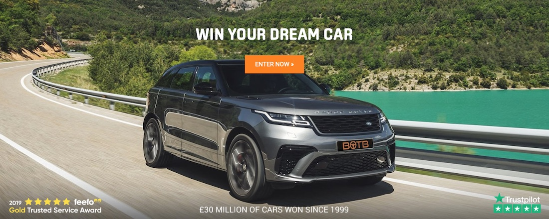 Click here to enter BOTB win a car competition
