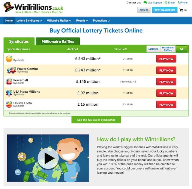 Wintrillions Co Uk Reviews